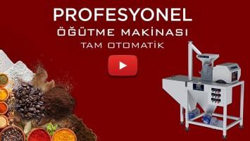 PUDRA ŞEKERİ ÖĞÜTME MAKİNASI T180 TAM OTOMATİK | ANİMASYON