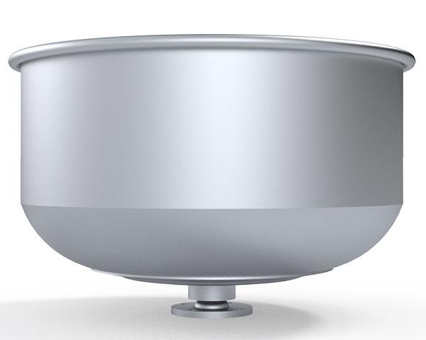 75 Kilogram Kapasiteli Tereyağı ve Sucuk Yoğurma Makinesi El Yapımı Kazanı