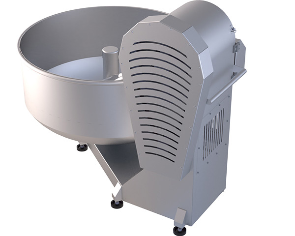 400 Kilogram Kapasiteli Tereyağı ve Sucuk Yoğurma Makinesi tanıtım görseli.