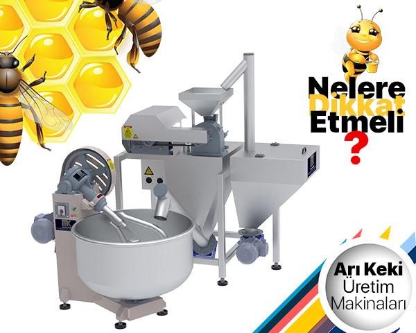 Arı Keki Üretim Makinaları Alırken Nelere Dikkat Edilmeli? Bu Makaleyi incele!