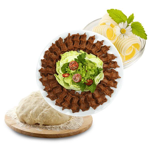 Profesyonel Yoğurma ve Karıştırma Makinesi ile çiğ köfte,hamur tereyağı gibi gıdalar hazırlanır.