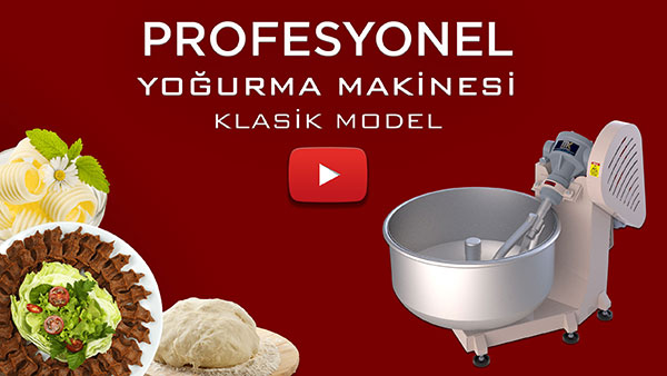Profesyonel Hamur Yoğurma Makinesi Video görseli.