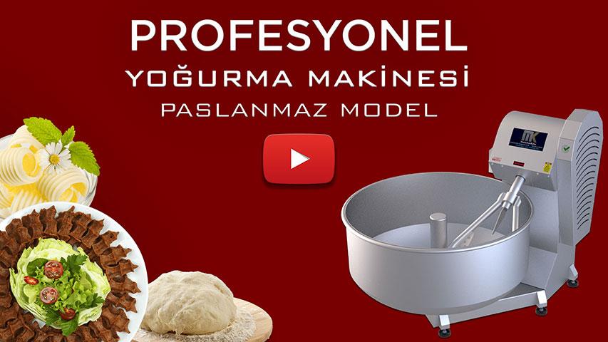 Profesyonel Tereyağı ve Sucuk Yoğurma Makinesi Video görseli.