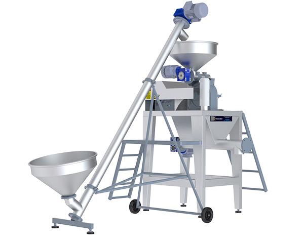 Pudra Şekeri Öğütme Makinası Otomatik sistemleri ile kolay üretim, kolay üretin.