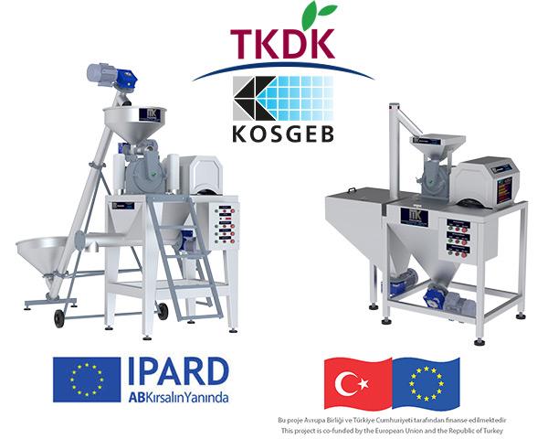 Pudra Şekeri Makinası Kosgeb, Tkdk, Avrupa Birliği (IPA) destek ve hibe paketleri kapsamında.