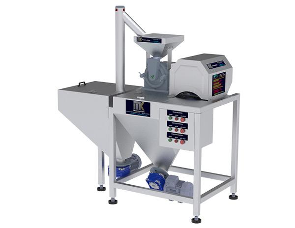 Pudra Şekeri Öğütme Makinası T-180 Tam Otomatik ile öğütme işlemleriniz artık daha pratik daha otomatik. MakinaKon