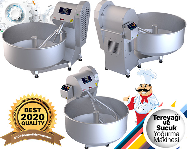 Tereyağı ve Sucuk Yoğurma Makinesi görseli.