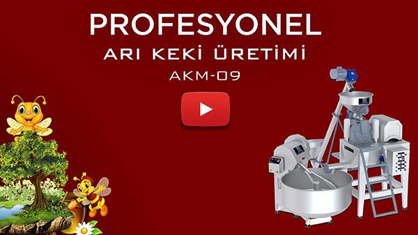 Arı Keki Üretim Makinaları Akm-09 Video Tanıtım Görseli.