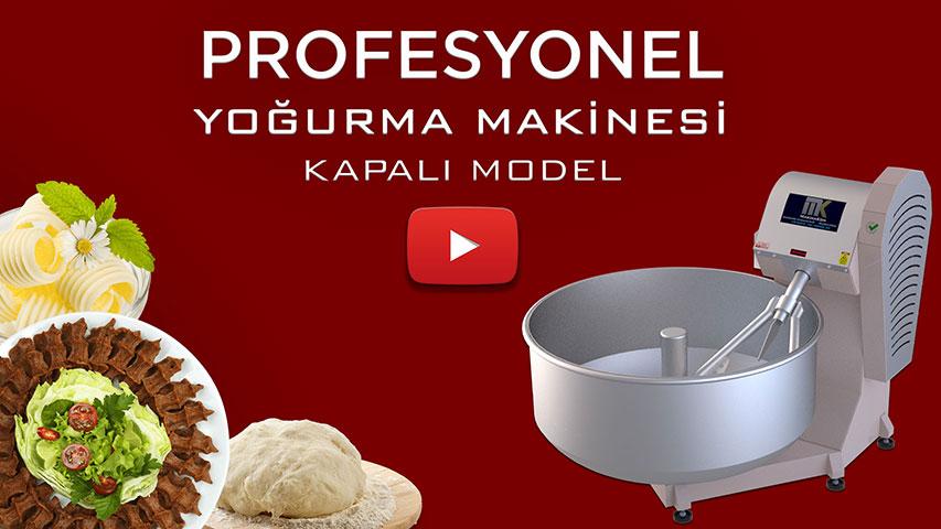 Çiğ Köfte Yoğurma Makinesi Video görseli.