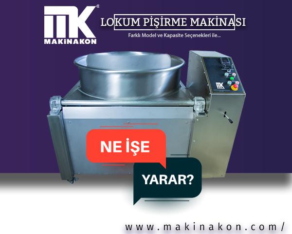 Lokum Pişirme Kazanı lokum yapım aşamasında başrolü üstlenen en iyi ekipmanlardan biridir.  MakinaKon