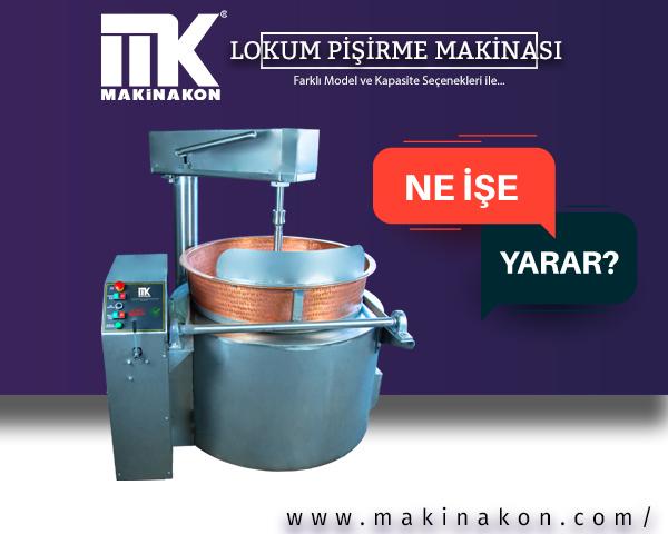 Lokum Pişirme Makinası lokum yapımında başrolü üstlenen profesyonel ekipmanlardan biridir.  MakinaKon