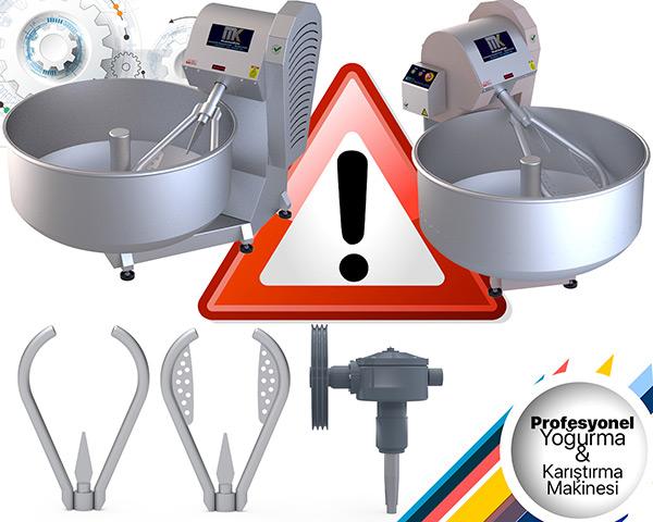 Profesyonel Yoğurma ve Karıştırma Makinesi Alırken dikkat edilmesi gereken hususlar.