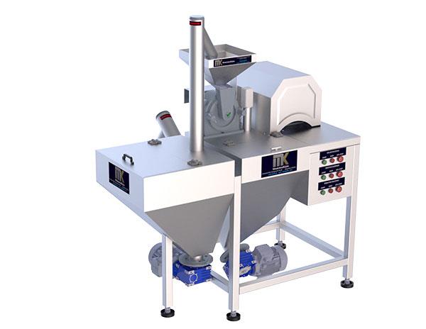 Pudra Şekeri Öğütme Makinesi T-180 Tam Otomatik Kapasite Seçenekleri