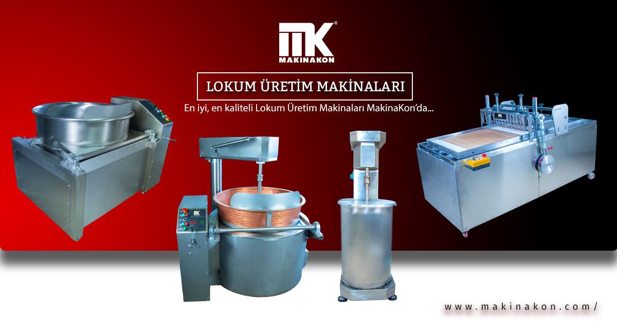 Lokum Üretim Makinaları MakinaKon'da