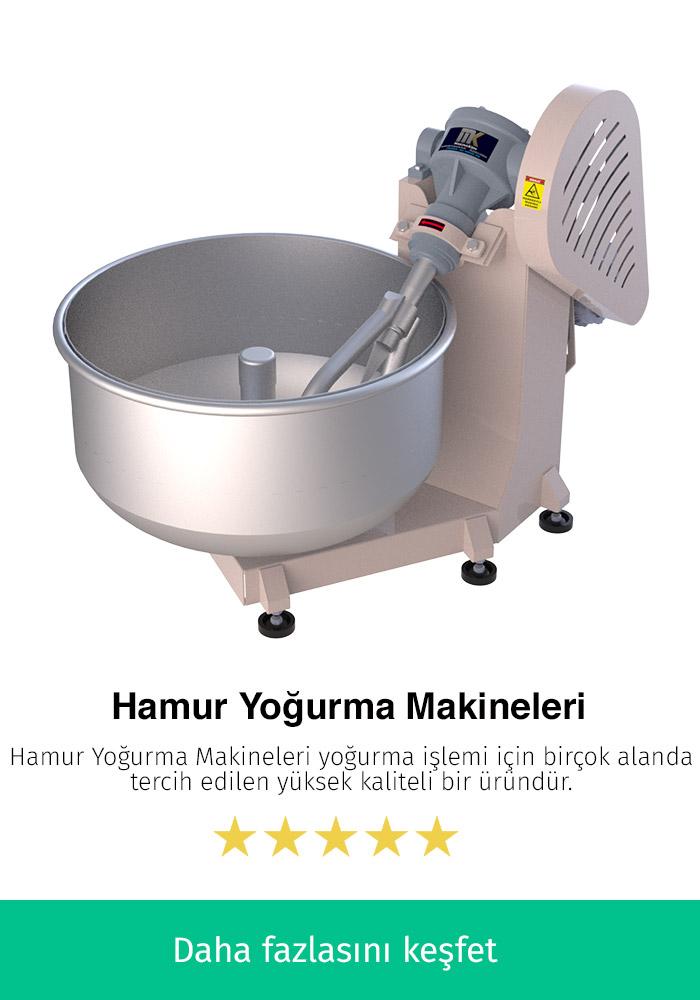 Hamur Yoğurma Makineleri