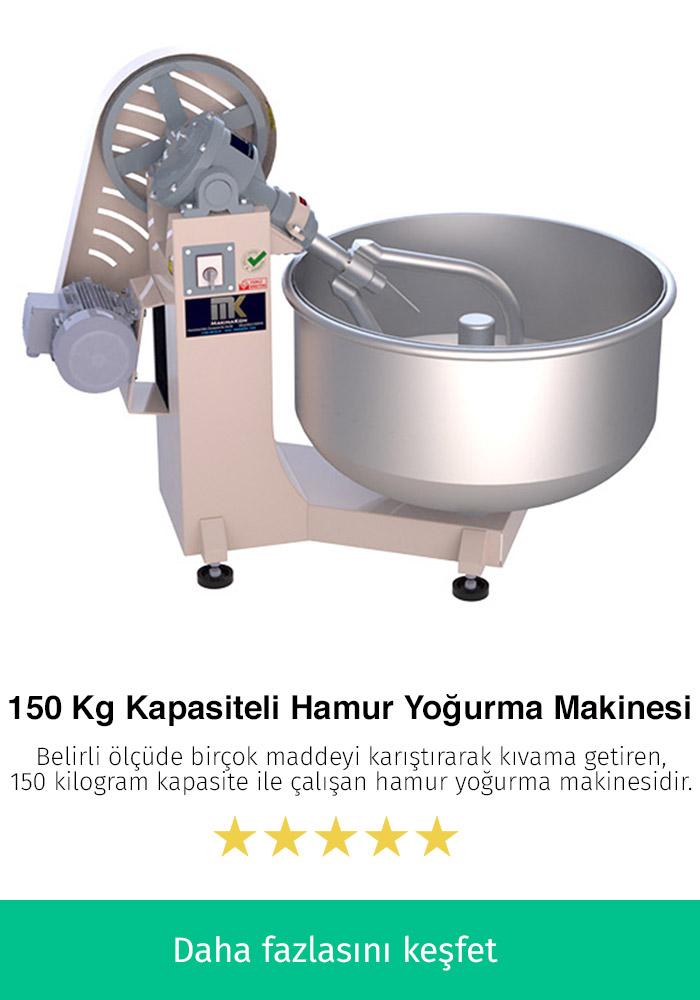 150 Kilogram Kapasiteli Hamur Karma Makinesi