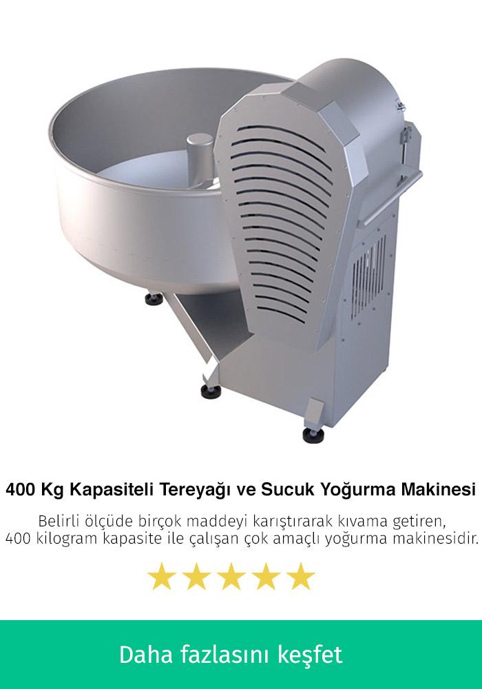 400 Kilogram Kapasiteli En İyi Tereyağı ve Sucuk Makinesi
