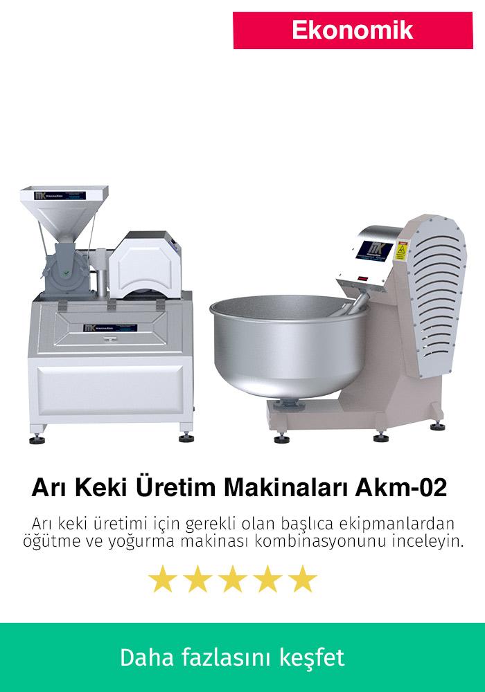 Arı Keki Üretim Makinaları AKM-02