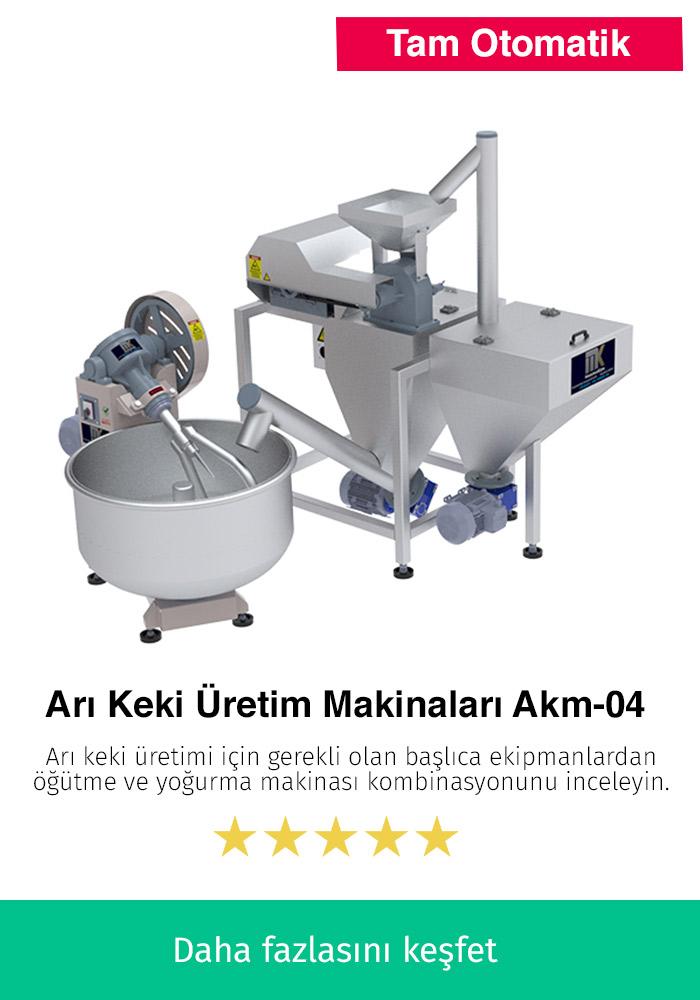 Arı Keki Üretim Makinaları AKM-04