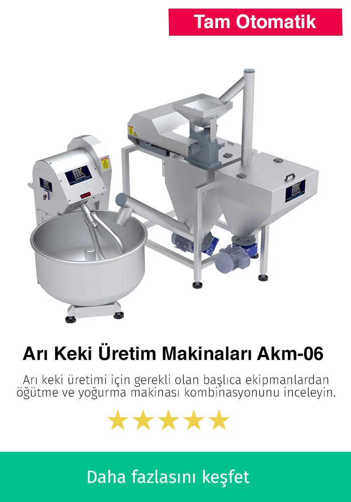 Arı Keki Üretim Makinaları AKM-06