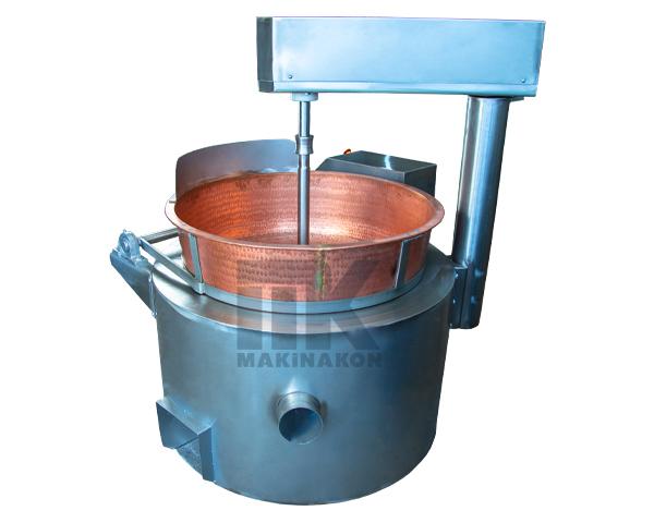 Bakır Kazanlı Lokum Pişirme Makinası