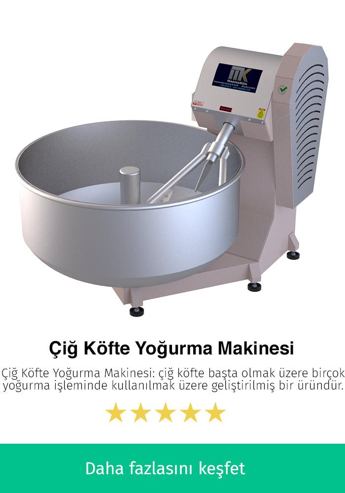 Çiğ Köfte Yoğurma Makinesi