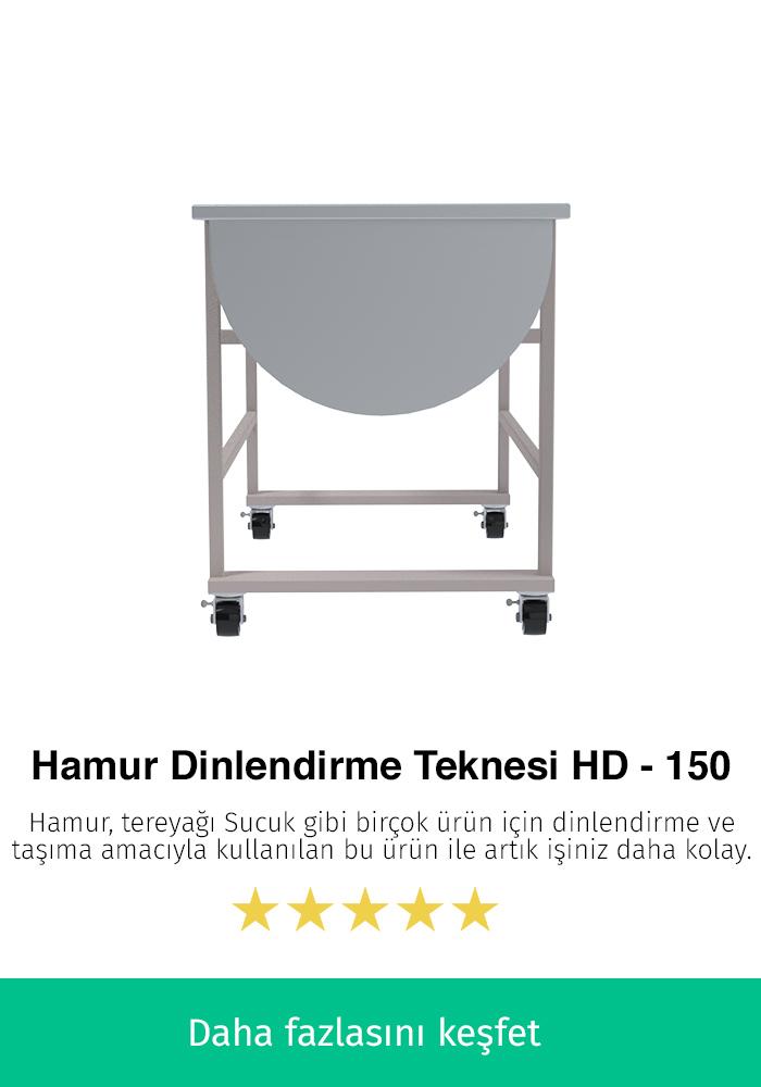 Hamur Dinlendirme Teknesi - HD-150